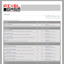 Pixelgasm Forum • Index page