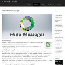 Pixelknot: Hidden Messages – Guardian Project