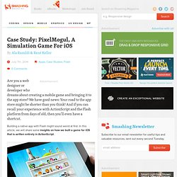 Case Study: PixelMogul, A Simulation Game For iOS