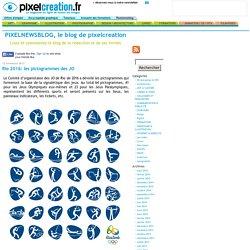 pixelnewsblog » Rio 2016: les pictogrammes des JO