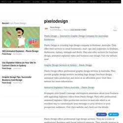Brochure Design Sydney - Pixelo Design