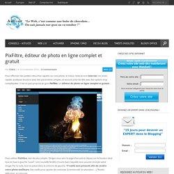 PixFiltre, éditeur de photo en ligne complet et gratuit
