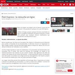 Pixlr Express : la retouche en ligne
