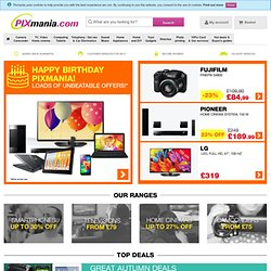 Pixmania – gift ideas, buy online, laptops, electronics,home app