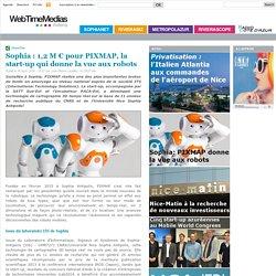 1,2 M € pour PIXMAP, la start-up qui donne la vue aux robots