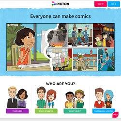 Pixton | World's Best Way to Make & Share Comics