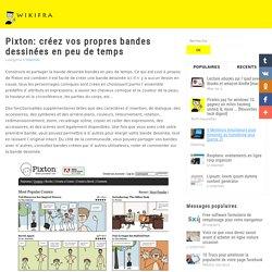 Pixton: Créez vos propres bandes dessinées en peu de temps