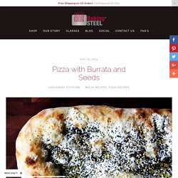 Pizza with Burrata and Seeds