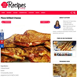 Pizza Grilled Cheese – Easy Recipes