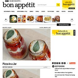 Pizza in a Jar : BA Daily: Blogs