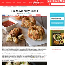 Pizza Monkey Bread Recipe