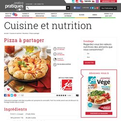 Pizza à partager