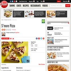 S'more Pizza Recipe : Guy Fieri
