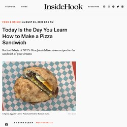 Pizza Sandwich Recipes from Rachael Marie of Slice Joint