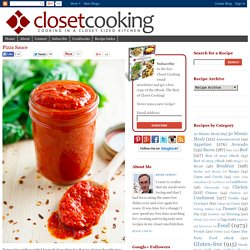 Pizza Sauce on Closet Cooking