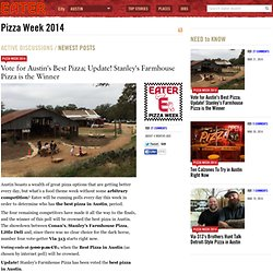Pizza Week 2014 : Eater Austin