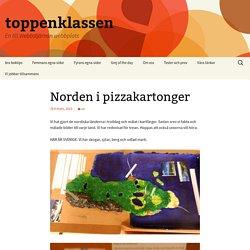Norden i pizzakartonger