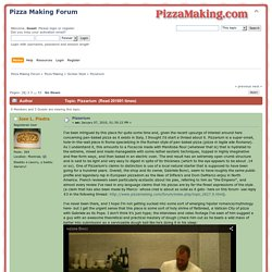 Pinsa recipes