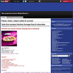 pizzas tartes crepes salees et sucrees - Page 2