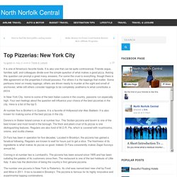 Top Pizzerias: New York City - North Norfolk Central