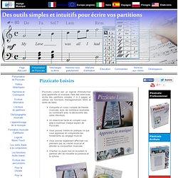Pizzicato Loisirs - Logiciel pour apprendre et pratiquer la musique