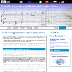 Pizzicato - Un logiciel musical pour composer, écrire et apprendre la musique