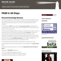 PKM in 40 Days