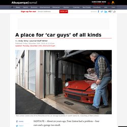 A place for 'car guys' of all kinds