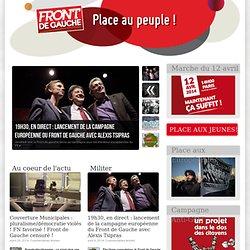 PLACE AU PEUPLE ! 2012 – L'alternative à l'austérité, c'est possible