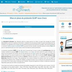 Mise en place du protocole GLBP sous Cisco
