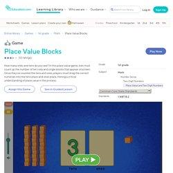 Place Value Blocks Game