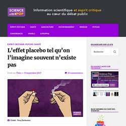L'effet placebo tel qu'on l'imagine souvent n'existe pas
