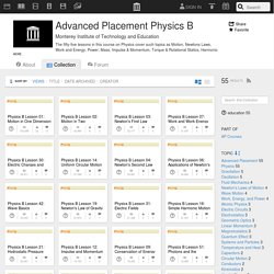 Advanced Placement Physics B : Free Education : Download & Streaming