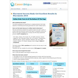 Mphasis placement papers 2011 with answers