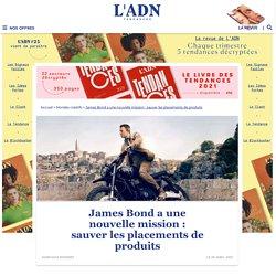 Les placements de produits du prochain James Bond en péril
