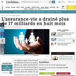 L'assurance-vie a drainé plus de 17 milliards en huit mois, Placements à long terme, quelles stratégies et quels produits ?