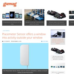 Placemeter Sensor offers a window into activity outside your window