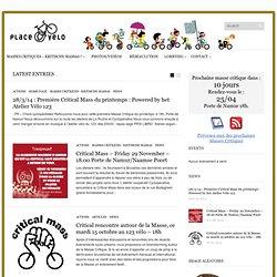 itinéraires vélo à Bruxelles