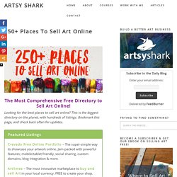 250+ Places Artists Can Sell Online