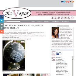 Chalkboard (Halloween) Globe