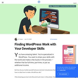 12 Places to Find and Post WordPress Jobs | WordPress News at WPMU.org