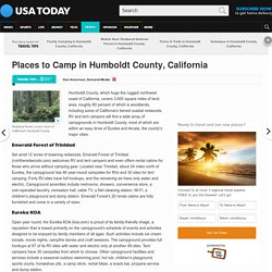 Places to Camp in Humboldt County, California