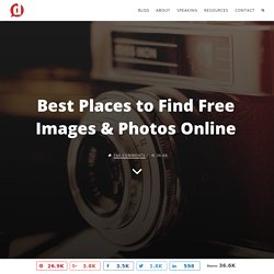 Best Places to Find Free Images & Photos Online