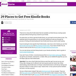 33 Places to Get Free Kindle Books (January 2015)