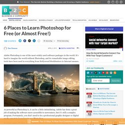 6 Places to Learn Photoshop for Free (or Almost Free!)