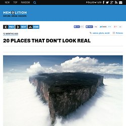 20 places that don't look real (20 pictures