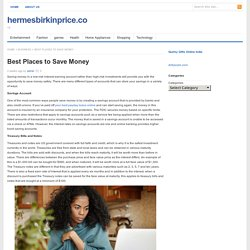 Best Places to Save Money