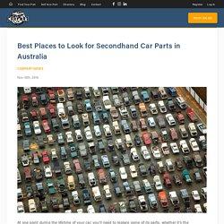 Best place to buy car parts - CarpartAU