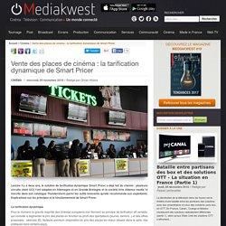 Vente des places de cinéma : la tarification dynamique de Smart Pricer