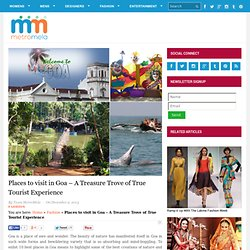 Places to visit in Goa during Sunburn - MetroMela